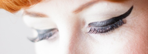 1940s eye make up