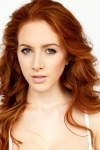 redhead natural make up