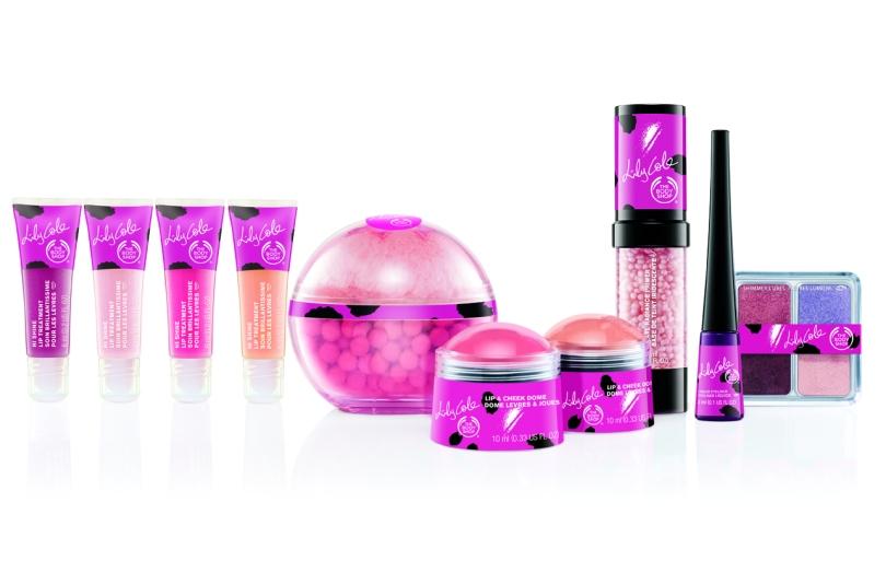 Lily Cole Body Shop makeup range