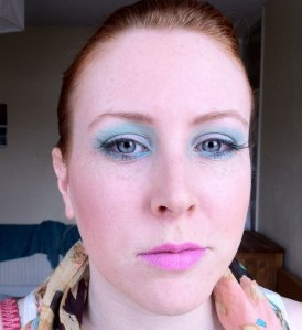 Spring pastel make up for redhead ginger