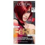 Pure Scarlet loreal feria 6.7